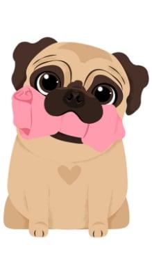 Descargar Fondos De Pantalla De Perros Pug Ayuda Celular