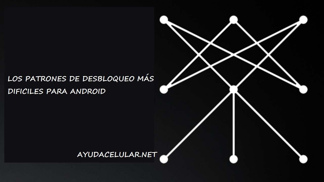 Estos son los patrones de desbloqueo difíciles para Android - Ayuda ...