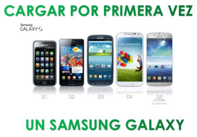 Cómo Cargar Un Samsung Galaxy Nuevo Por Primera Vez Para No Dañar La Bateria Ayuda Celular