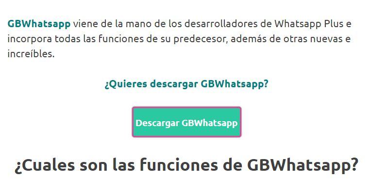 descargar ultima version de whatsapp plus apk