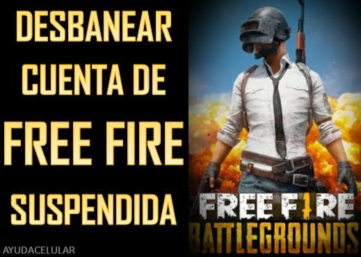 Cuenta De Free Fire Suspendida