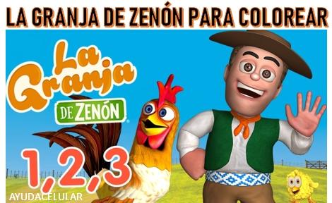 Imagenes De La Granja De Zenon Para Colorear E Imprimir