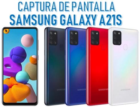 Captura De Pantalla En Samsung Galaxy A21s Paso A Paso Ayuda Celular